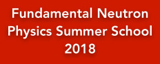 Fundamental Neutron Physics Summer School